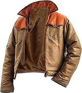 Men Yellowstone Kevin Costner Bomber Jacket - John Dutton Jacket Mens