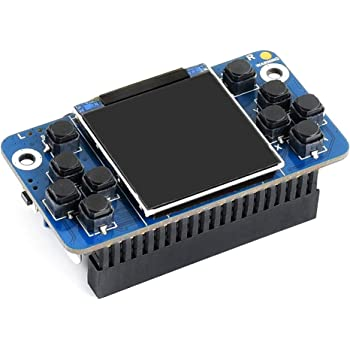Waveshare Tiny GamePi15 Designed for Raspberry Pi Zero/Zero W/Zero WH/A+/B+/2B/3B/3B+/3A+ 1.54inch Display 240×240 Resolution Full-Functional Game Console Onboard Speaker Earphone Jack Volume Knob: Amazon.es: Electrónica