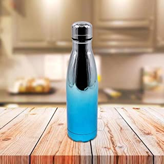 Kookee™ Stainless Steel Vacuum Insulated Double Wall Water Bottle for Home, Office, Travel and Sports, Leak-Proof Lid for ...