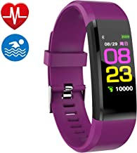 Smart watch Fitness Tracker, Fitness Watch,Heart Rate Monitor, Waterproof Smart Fitness..