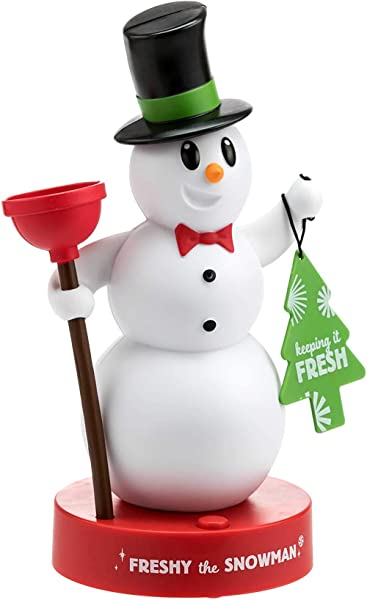 Hallmark Freshy The Snowman Motion Activated Figurine Talks When You Enter The Bathroom