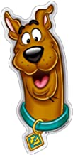 Fan Emblems Scooby Doo Logo Car Decal Domed/Multicolor/Chrome Finish, Happy Scooby Automotive Sticker Decal Badge Easily Applies to Cars, Trucks, Motorcycles, Laptops, Cellphones, Almost Anything