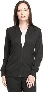 Dynamix DK330 Women's Zip Front Warm-Up Solid Scrub Jacket