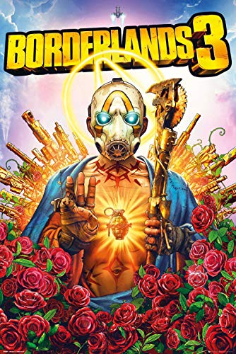 Close Up Borderlands 3 poster cover (61cm x 91,5cm)