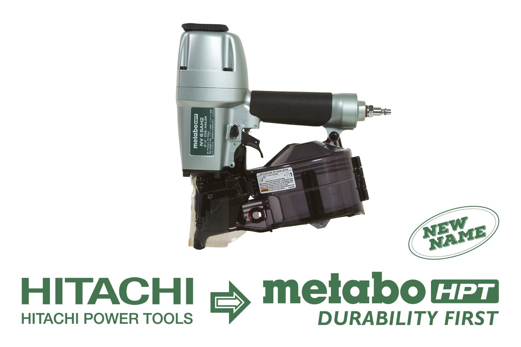 Metabo HPT NV65AH2 Collation Warranty