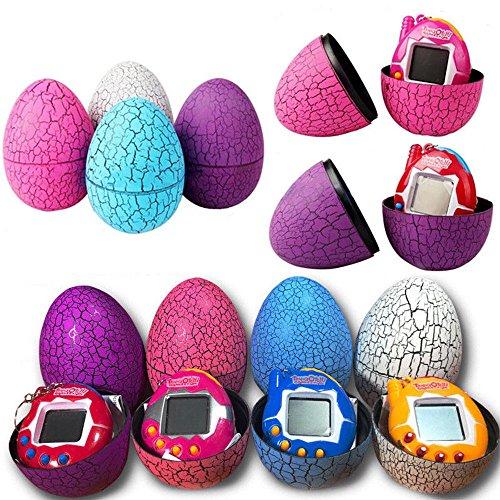 Nursace Digital-Virtual-Reality-Pet, Tamagotchi Electronic Pets Toys Dinosaur Egg for Kids (1x pcs Random Color)
