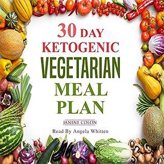 30-Day Ketogenic Vegetarian Meal Plan audiobook cover art