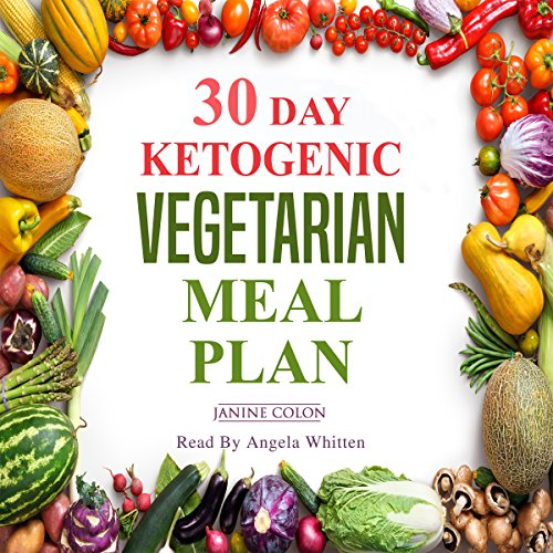30-Day Ketogenic Vegetarian Meal Plan audiobook cover art