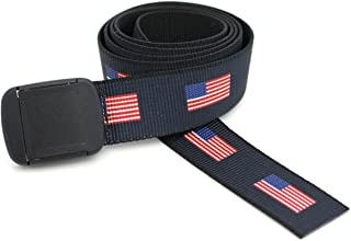 American Flag Web Belts - Made in the USA