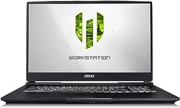 CUK MSI WE75 Mobile Workstation Laptop (Intel i7-8850H, 32GB RAM, 512GB NVMe SSD, NVIDIA Quadro T2000 4GB, 17.3