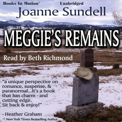Meggie's Remains audiobook cover art