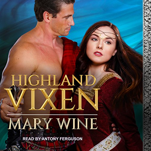 Highland Vixen audiobook cover art