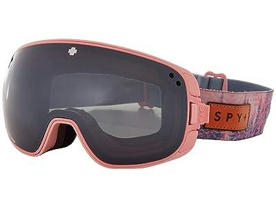 Spy Optic Bravo (Native Nature Pink Happy Gray Green w/ Silver Spectra) Snow Goggles