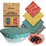 SAVOURIO - Reusable Wrappers for Beeswax Foods - Organic, Organic, Biodegradable, Beeswax Napkin