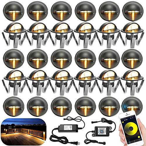 LED Stair Lighting Kit, Sumaote 30pcs Φ1.38