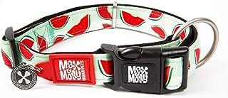 Max & Molly Watermelon Smart Id Collar  Comfortable   Odor Free Neoprene  Smart Id Tag   Lost Pet Protection Program   Ext...