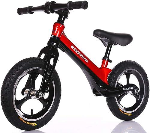 vendiendo bien en todo el mundo WANGPIPI WANGPIPI WANGPIPI Bicicleta Infantil Sin Pedales,Carro De Equilibrio Infantil 12 Pulgadas AleacióN De Magnesio Rueda Neumatica Sin Pedal 2-6 años De Edad Dos Rondas Scooter  ahorra hasta un 70%
