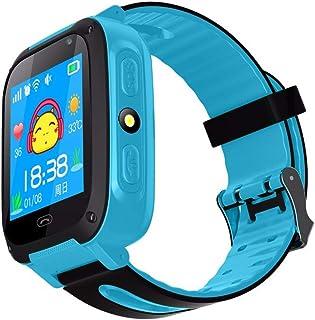 2fed95c55 Qomomont Reloj Inteligente para niños con Juegos - Niños Chicas Reloj  Digital Pulsera de 2 vías