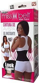 Ideavillage Women's Miss Belt Instant Shaper (As Seen On TV)