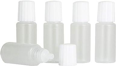 スポイトタイプ 点眼容器 白キャップ 10ml 5本セット