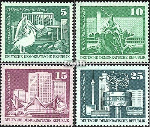Prophila Collection DDR 1842-1843,1853-1854 (kompl.Ausg.) 1973 Aufbau in der DDR, Großformat (Briefmarken für Sammler)