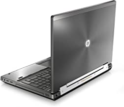 HP Elitebook 8570W 15in Notebook PC - Intel Core i5-3320M 2.6GHz 8GB 320GB DVDRW Windows 10 Professional (Renewed)
