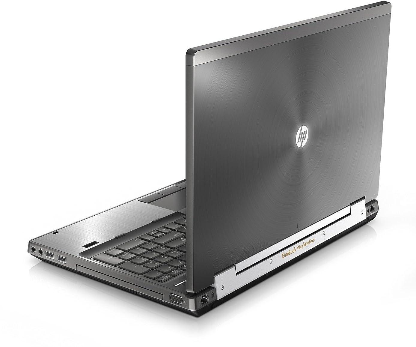 HP Elitebook 8570W 15in Notebook PC - Intel Core i5-3320M 2.6GHz 8GB 320GB DVDRW Windows 10 Professional (Renewed)