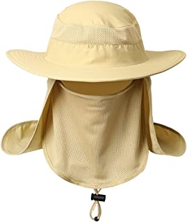 belababy Outdoor Sun Cap Men Women UPF 50+ UV Sun Protection Neck Flap, Face Cover Mask