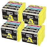 Yellow Yeti Reemplazo para Brother LC1000 20 Cartuchos de Tinta compatibles con Brother DCP-130C DCP-135C DCP-150C DCP-330C DCP-350C DCP-357C DCP-540CN DCP-560CN DCP-770CW MFC-235C MFC-465CN FAX-2840