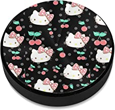 Hello Kitty in Black Background Aluminium Alloy Magnetic Car Mount, Magnetic Car Mount Phone Holder,for Cell Phones and Mini Tablets Suit for Any Phone