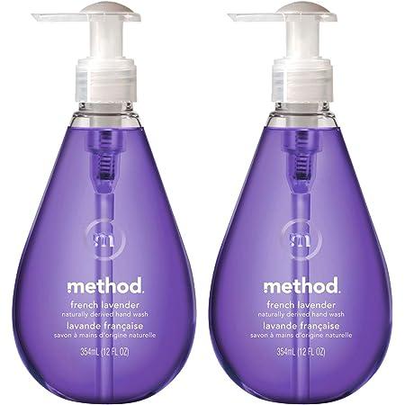 ハンドソープ 液体 おしゃれ メソッド(method) ジェルタイプ フレンチラベンダーの香り まとめ買い 手洗い 本体 354ml×2個 ボトル