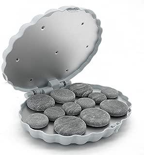Royal Massage Clamshell (Large) Hot Stone Heater w/12 Hot Rocks