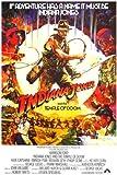 Film Poster Indiana Jones und The Temple of Doom Action