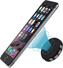 Magnetic Car Mount Universal Stick On Dashboard Cell Phone Holder Ultra-Compact for all Cell Phones and Tablets with Fast Swift-snap Technology