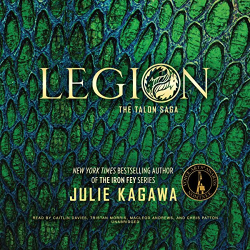 Legion                   By:                                                                                                                                 Julie Kagawa                               Narrated by:                                                                                                                                 Caitlin Davies,                                                                                        Tristan Morris,                                                                                        MacLeod Andrews,                   and others                 Length: 11 hrs and 48 mins     549 ratings     Overall 4.6