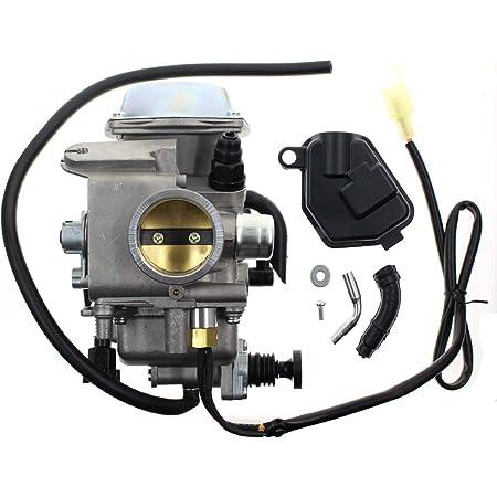 Amazon.com: Carbhub Carburetor for Honda Foreman 450 TRX 450 TRX450ES  TRX450FE TRX450FM TRX450S 1998-2004 Aftermarket Carb with Throttle Base  Cover & Screw: Automotive | Trx 450 Carb Wiring Diagram |  | Amazon.com