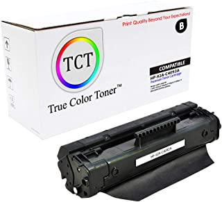 TCT Premium Compatible Toner Cartridge Replacement for HP 92A C4092A Black Works with HP Laserjet 1100 1100A 1100A-SE 1100A-XI 1100SE 1100XI, 3200 3200M 3200SE Printers (2,500 Pages)