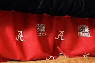 College Covers Alabama Crimson Tide Dust Ruffle