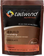 Tailwind Nutrition Rebuild Recovery 15 Serving Chocolate Resealable Bag Vegan with Complete Protein Estimated Price : £ 35,95