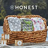 The Honest Company Diapers - Newborn, Size 0 - Space Travel Print | TrueAbsorb Technology | Plant-Derived Materials | Hypoallergenic, 32 count each, Pack of 4