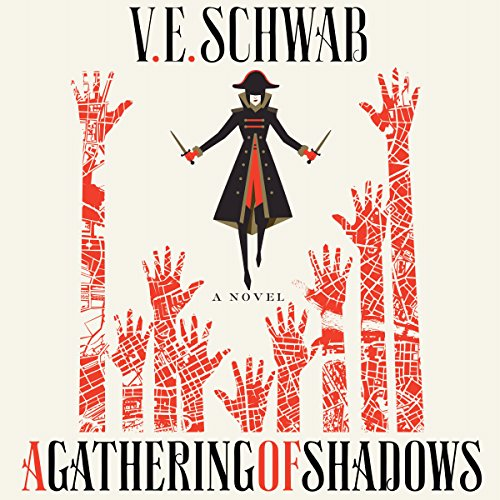 A Gathering of Shadows audiobook cover art