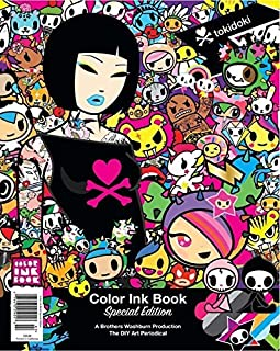 Color Ink Book Special Edition Tokidoki DIY Coloring