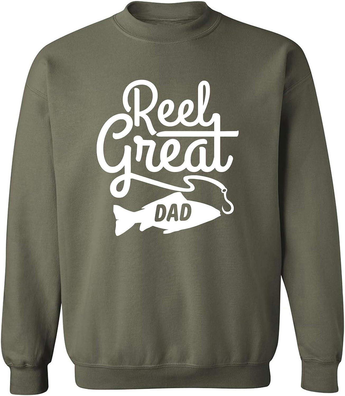 Reel Great Dad Crewneck Sweatshirt