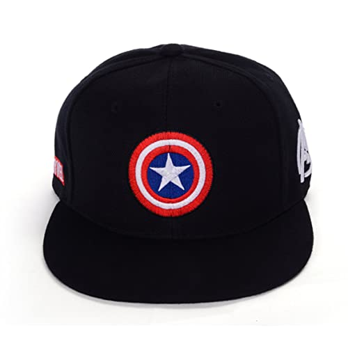 b477c5ea4ef REINDEAR Marvel Avengers Captain America Shield Hat Baseball Cap