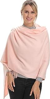 1 or 2 Packs Women Pashmina Scarf, Wraps and Shawls for Evening Dresses, Cashmere Warm Feeling, Amazing Soft, Large Size