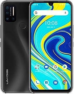UMIDIGI A7 Pro SIMフリースマホ 本体 (スマートフォン) 6.3インチ大画面 4コア メイン+マクロ+超広角+深度カメラ 4150mAh大型バッテリー Andoroid10 4G LTE 2回線同時待受 (Cosmic Black ブラック, 64GB)