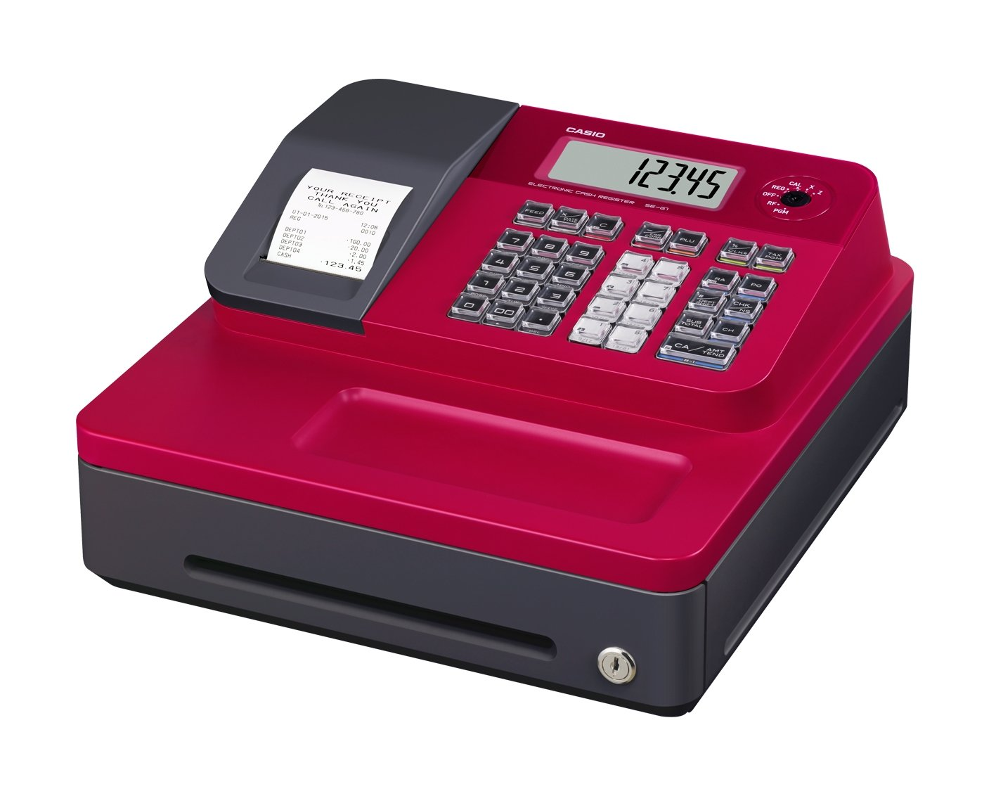 Casio SE G1SC RD Electronic Cash Register