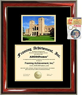 University of California Los Angeles Diploma Frame Campus Picture UCLA Graduation Gift Degree Frame College Plaque Holder Case Photo Certificate Framing Case Graduate