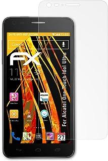atFoliX FX-Antireflex premium icke-reflekterande skärmskydd för Alcatel One Touch Idol Ultra (paket med 3)