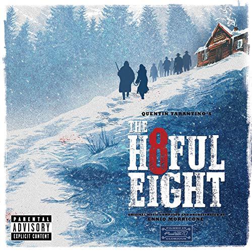 Le CD de la musique du film The Hateful Eight (Les huit Salopards)